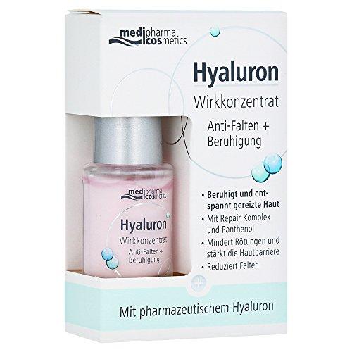 medipharma cosmetics HYALURON WIRKKONZENTRAT Anti-Falten+Beruhigung, 100 g