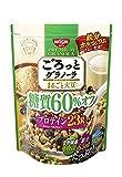日清シスコ ごろっとグラノーラ 糖質60%オフ まるごと大豆 350g×6袋
