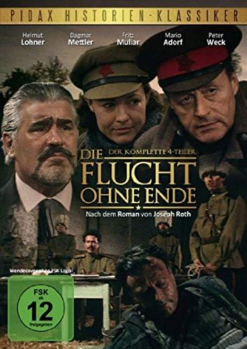 Die Flucht ohne Ende - Der komplette Vierteiler (2 DVDs)