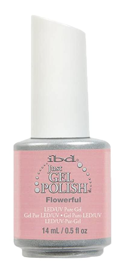 粘り強い比較的説得IBD Just Gel Polish - Flowerful - 0.5oz / 14ml