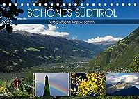 Schoenes Suedtirol (Tischkalender 2022 DIN A5 quer): Stimmungsvolle Farbfotografien aus Suedtirol. (Monatskalender, 14 Seiten )