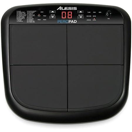 Alesis PercPad - Multi Pad de Batterie et Percussion Électronique Compact + Banque Sonore Intégrée et Sortie MIDI