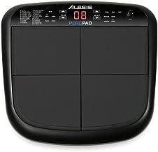Alesis PercPad - Instrumento de percusión multi-pad compacto con 4 pads sensibles a la velocidad y sonidos incorporados