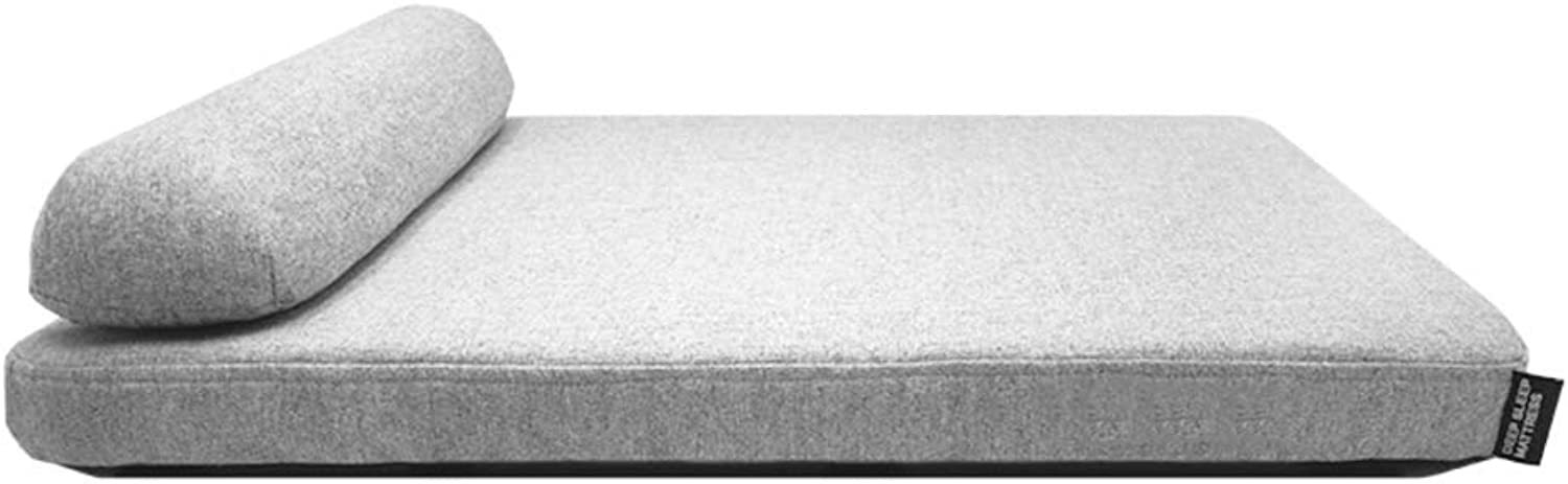 Dog Bed,Four Seasons Deep Sleep Mattress Pet Dog Kennel Memory Foam Dog Cushion Removable Cover NonSkid Pet NestGrey,M