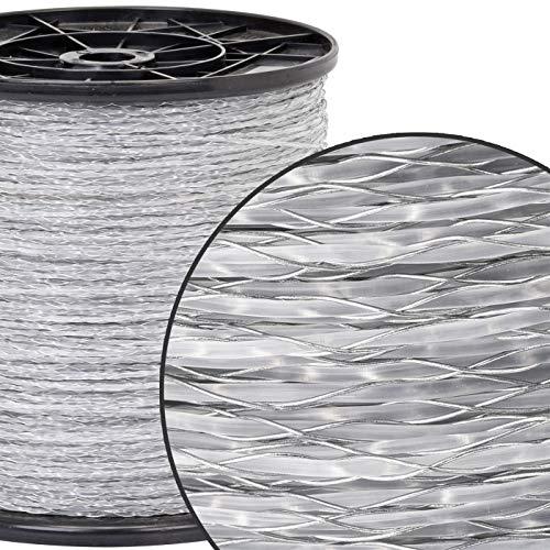 1000m Monolitze Polydraht transparent für Weidezaun Litze Elektrozaun – besonders geeignet für lange und schwierige Einzäunungen – für Schaf Rind und Ziege - 3