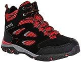 Regatta Chaussures Techniques Junior-Holcombe Iep, Hiking Boot Fille,Black(Black/Pepper)38 EU