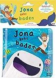 Jona geht baden: Badebuch mit Wasser-Überraschungs-Effekt (Bilderbuch für Kleinkinder)