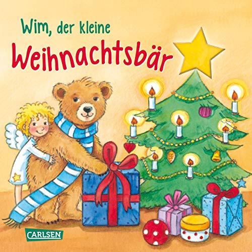 Wim, der kleine Weihnachtsbär: Mit neugierig machenden Gucklöchern und gereimter Geschichte