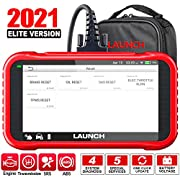 #LightningDeal LAUNCH OBD2 Scanner-2021 New CRP129E Scan Tool for TCM Eng ABS SRS Code Reader, Oil/EPB/TPMS/SAS/Throttle Body Reset Diagnostic Tool with Carry Bag, AutoVIN WiFi Update,Upgraded of CRP123