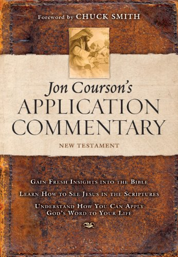 Jon Courson\'s Application Commentary: Volume 3, New Testament (Matthew - Revelation) (English Edition)