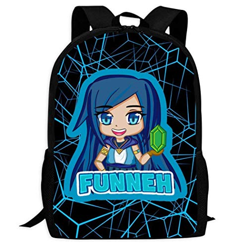 IUBBKI Fashion Its-Funneh Backpack Water Resistant College Student Rucksack Daypacks Schoolbag for Boys Girls