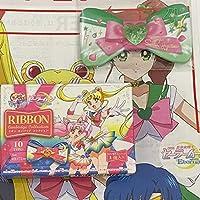 『美少女戦士セーラームーンのリボン型缶バッジ』 アニメ グッズ