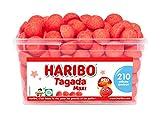 HARIBO - Tagada - Bonbons Arômatisés à la Fraise - Boîte de 210 Bonbons
