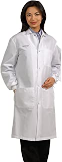Fashion Seal Healthcare Unisex Snap Front Lab Coat