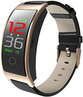 XNNDD Bluetooth Smart Watch para Hombre y para Mujer Monitor de Ritmo cardíaco Presión Arterial Fitness Pulsera Smart Watch Reloj Deportivo Ip67 a Prueba de Agua