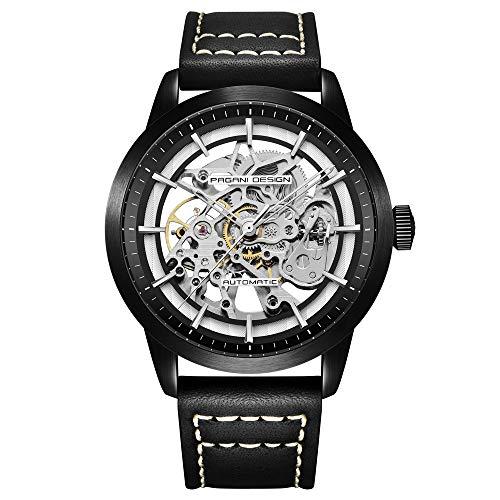 Pagani Design Relojes de Moda para Hombres, tourbillon Hueco, Relojes automáticos para Hombres, Deportes de Negocios, Relojes mecánicos para Hombres, Relojes Impermeables para Hombres