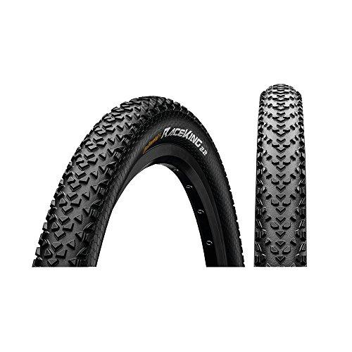Continental Unisex– Erwachsene Race King Fahrradreifen, schwarz, 26 X 2.00