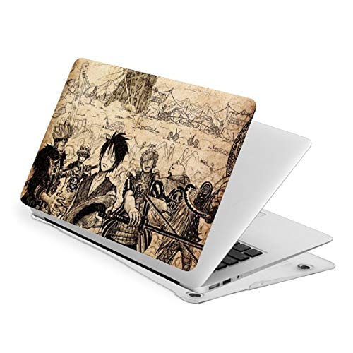 One Piece Laptop Case MacBook Non-Slip Durable Waterproof Plastic Hard Shell Case,for MacBook New Air 13/Air 13/15 Inch/Touch 13/15inch PVC Laptop Protective Cover touch13