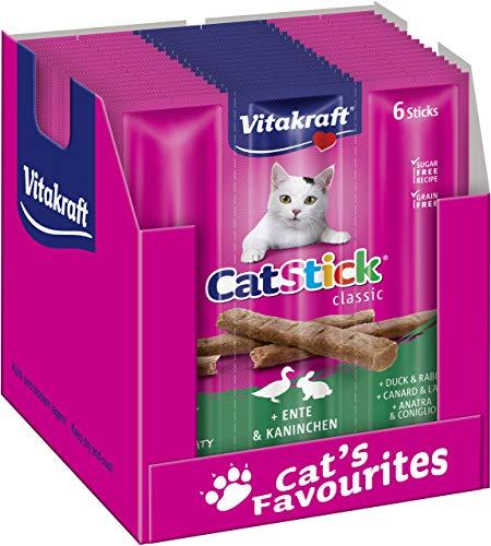 Vita Fuerza gato Snack Cat, 10 sobres de 6 barras