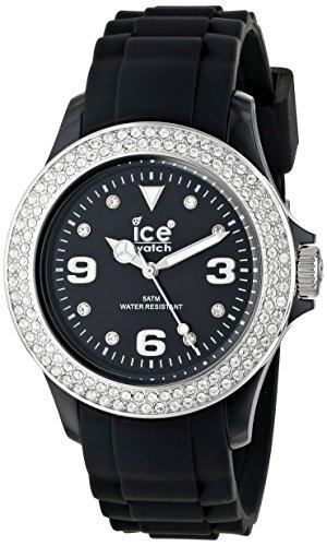 Ice-Watch Armbanduhr Stone-Sili Unisex Schwarz ST.BS.U.S.09