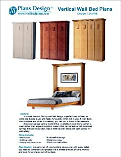 Low-Cost DIY Murphy Wall Bed Frame Woodworking Plans King, Queen, Full and Twin Included; 1AVWB