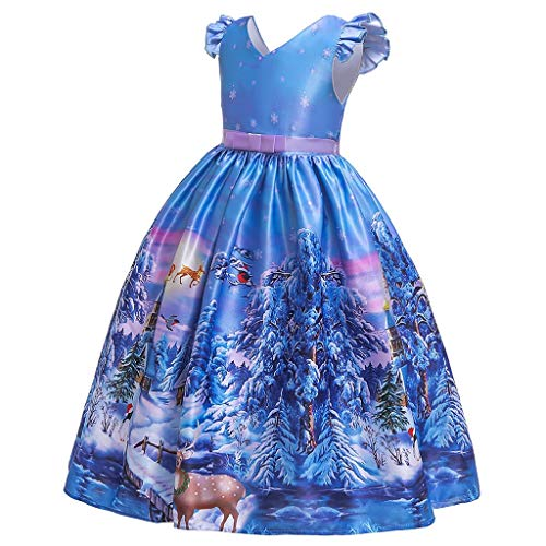 Best Buy! Toraway Girls Princess Dress Child Girls Cartoon Princess Pageant Gown Christmas Party Wed...