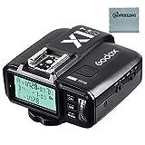 GODOX X1T-F Transmisor Flash TTL Disparador de Flash 1/8000S 2.4G Transmisión...