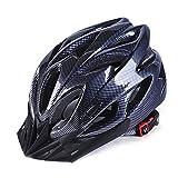 GCDN Casco da bicicletta con visiera, casco da mountain bike, casco da bici da strada, regolabile, leggero, per adulti, giovani e bambini