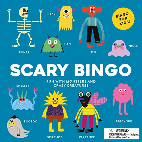 Compare Textbook Prices for Scary Bingo: Fun with Monsters and Crazy Creatures Brdgm Edition ISBN 9781786270085 by Hodgson, Rob