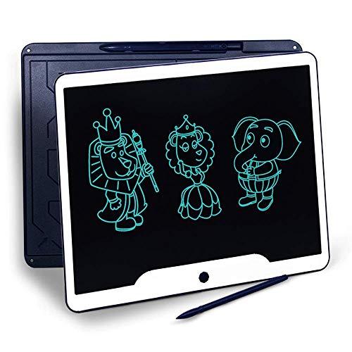 Richgv 15 Pulgadas Tableta Grfica, Tablets de Escritura LCD, Porttil Tableta de Dibujo, Adecuada para el hogar, Escuela, Oficina, Cuaderno de Notas, 1 ao de garanta (Azul)