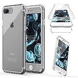 "Urcover Kompatibel mit Apple iPhone 7 Plus 8 Plus ""Touch Case 2.0"" [Upgrade Juni 2017] 360 Grad Rundum-Schutz Full Cover [Unbreakable Case bekannt aus Galileo] Crystal Clear Full Body Case"