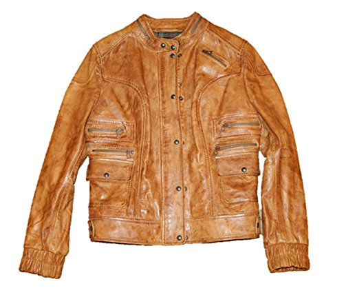 BOSS ORANGE Lederjacke JITALY Farbe Brown 220 40