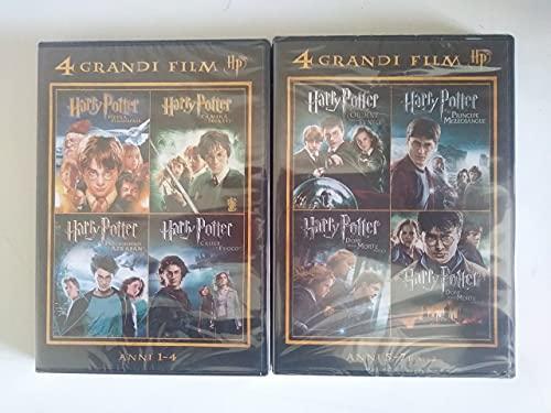 HARRY POTTER - La collezione completa (8 film in DVD)