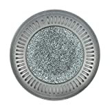 """Korean Stone BBQ Grill Pan, Smokeless Stone Plate for Indoor Stovetop 12"""" (32cm)"""