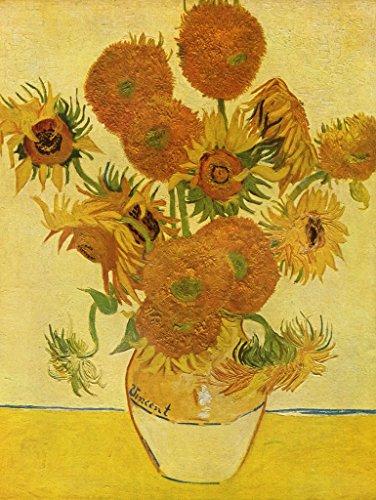 Lais Puzzle Vincent Willem Van Gogh - Stilleben mit Sonnenblumen 500 Teile