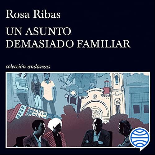 Diseño de la portada del título Un asunto demasiado familiar