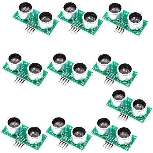 SHAHIDEER Partstower US-015 Ultraschallmodul und Distanzsensor für Arduino UNO, MEGA2560, Nano, Roboter, XBee