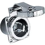 Locking Devices, Twist-Lock, Marine Grade, Shore Power Inlet, 50A 125/250V,...