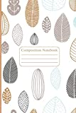 Composition Notebook: Colorful Leaves Notebook, Graph Paper for School, College, Office, Home, Travel (90 pages, 6x9 ')