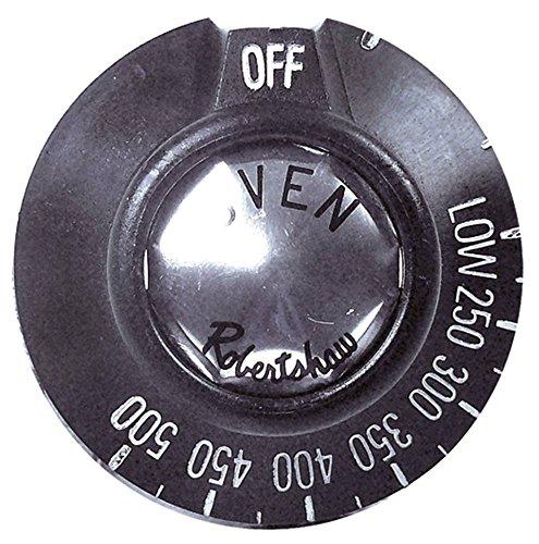 Knebel für Imperial-USA IR2000-Series, IMPERIAL USA IR2000-Series für Gasherd, Grillplatte, Räucherofen für Gasthermostat ø 49mm