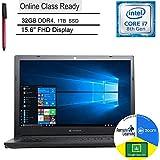 "Dynabook Toshiba Tecra A50-F 15 Business Laptop Computer_ 15.6"" FHD_ Intel Quad-Core i7-8565U up to 4.6GHz_ 32GB DDR4 RAM_ 1TB SSD_ DVDRW_ Online Class Ready_ Windows 10 Pro_ BROAGE 64GB Flash Drive"