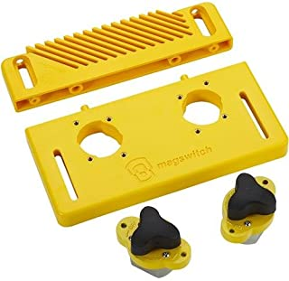 Magswitch STARTER KIT Includes Base, 2 Mag Jig 150, Reversible Feather Board