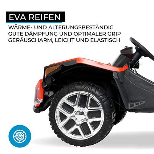 RC Auto kaufen Kinderauto Bild 5: Actionbikes Motors Kinder Elektroauto GT Super Speed JC888 – 4x40 Watt Motor – 2-Sitzer - Eva Reifen – Allrad – Kinderauto (Rot)*