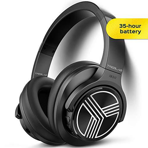 TREBLAB Over-Ear Wireless Headphones