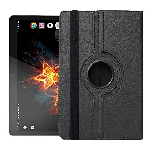 UC-Express Hülle für XORO TelePAD 96A3 Tablet Tasche Schutzhülle Universal Hülle Cover NAUCI, Farben:Schwarz