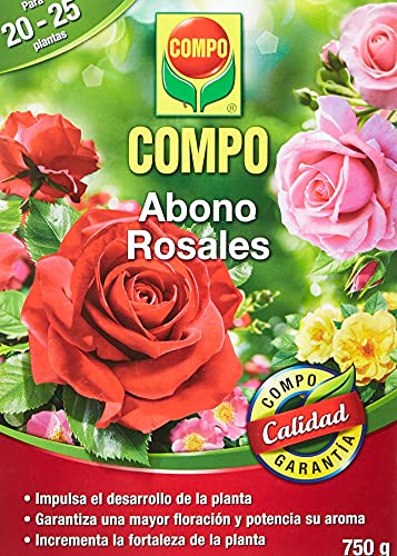COMPO Abono para rosales Apto también para otras plantas de flor, Envase...