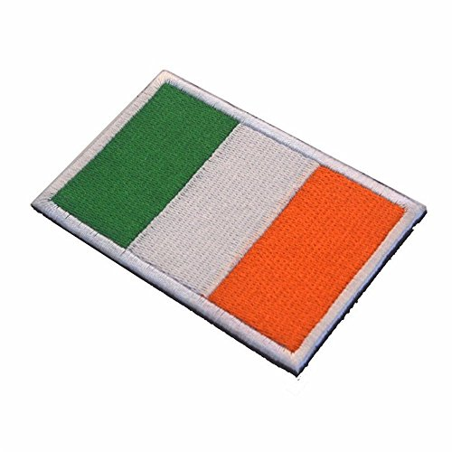 Kingnew Parche Táctico Militar Bandera Nacional Irlanda