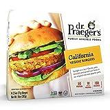 Dr. Praeger's, Frozen California Veggie Burgers, 2.5 Ounce, 4 Count