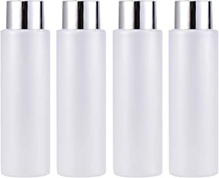 Lurrose 4 unids 200 ml Botellas Vacías Recargables Sampoo