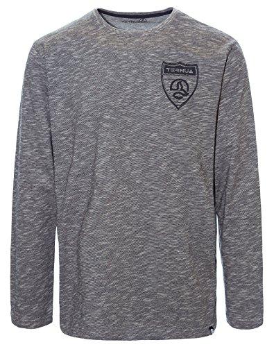 Ternua® Erling L/S M T Shirt, Homme M Gris (Ghost Grey)
